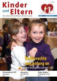 Kinderrechte von Anfang an - Wien - Kinderfreunde
