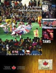U.S. Festival Tourism Enthusiasts - Canadian Tourism Commission ...