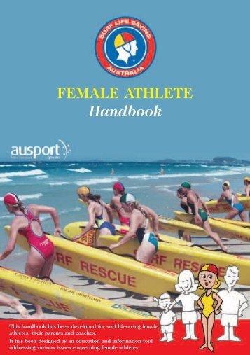 FEMALE ATHLETE Handbook - Lifesaving Society