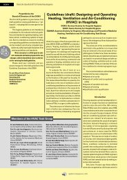 Guidelines (draft): Designing and Operating Heating, Ventilation and ...