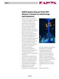 KANYA System Połączeń Profili PVS® Skrzynia z ... - Kanya AG
