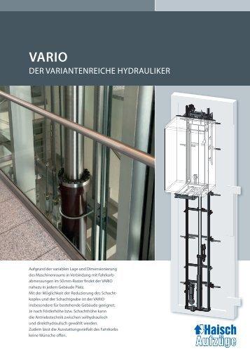 vario - Tepper Aufzüge GmbH