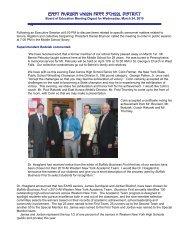 Print this meeting report (PDF) - East Aurora Union Free School