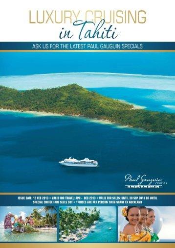 Harvey World Travel Bali Brochure