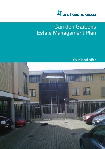 Camden Gardens Estate Management Plan - One Housing Group
