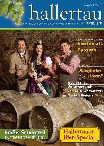 Hallertau Magazin 1/2013