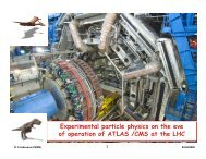 Experimental particle physics on the eve p p p y of ... - CERN openlab