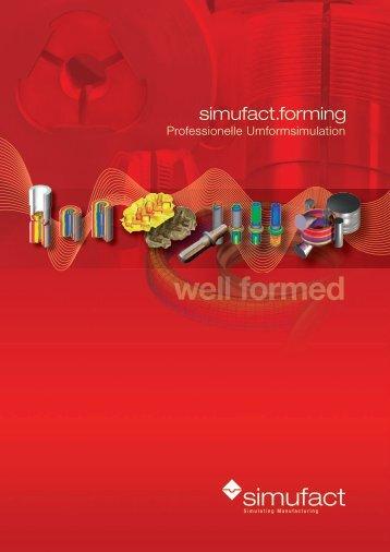 Professionelle Umformsimulation mit Simufact.forming