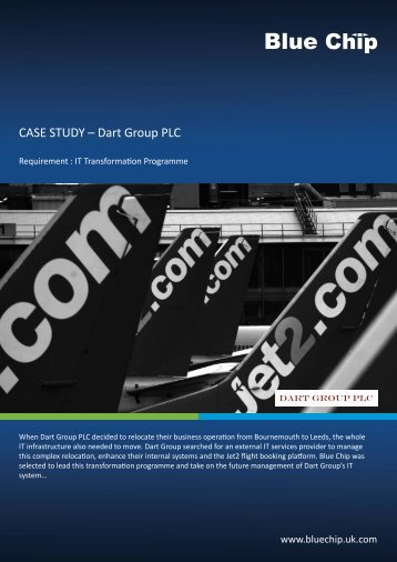 CASE STUDY – Dart Group PLC - Blue Chip - UK.COM