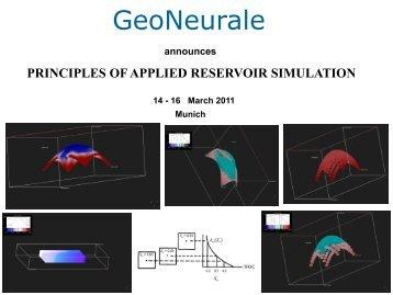 principles of applied reservoir simulation - GeoNeurale