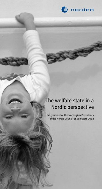The welfare state in a Nordic perspective