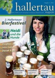 hallertau magazin 2012-1