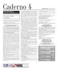 CADERNO 4 1 SEGUNDA-FEIRA, 14 DE MAIO DE 2012 Caderno 4 ...