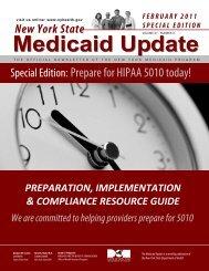 Medicaid Update - New York State Dental Association