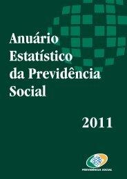 Capa AEPS 2011_v12 - Ministério da Previdência Social