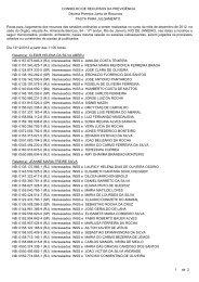 Pautas de julgamento nº 218 a 225 - 13, 14 e 17/12/2012