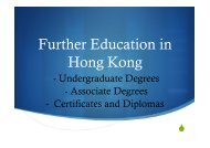 Further Education in Hong Kong - Renaissance College
