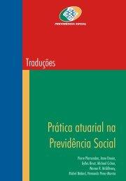 Vol.33- Prática Atuarial na Previdência Social - Ministério da ...