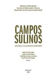 conservação e uso sustentável da biodiversidade - Ecologia ...