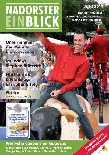Stephan Stitterich Nachbericht Erlebnistag - Nadorster Einblick