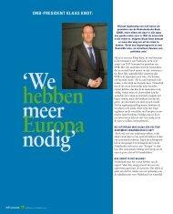 Interview Klaas Knot - Verbond van Verzekeraars