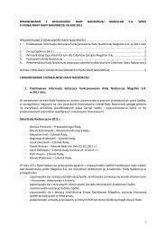 Raport bieżący nr 51/2012 - Magellan