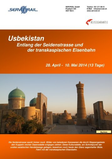 Usbekistan - SERVRail