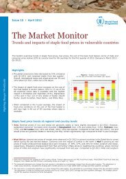 The Market Monitor - WFP Remote Access Secure Services