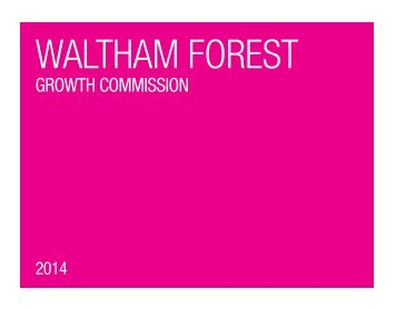 Waltham Forest Growth Commission