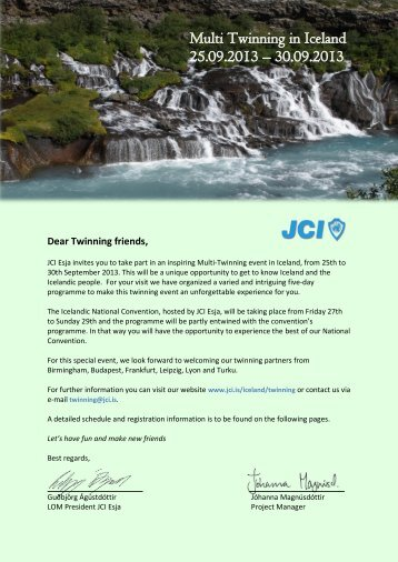 Multi Twinning in Iceland 25.09.2013 – 30.09.2013