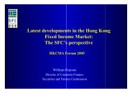 Latest developments in the Hong Kong Fixed Income Market: The ...