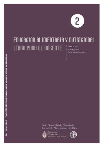 EDUCACIÓN ALIMENTARIA Y NUTRICIONAL LIBRO PARA ... - FAO