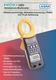 Ableitstrom-Multimeter - ASM GmbH