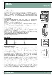 Produktblad AT 7580-EM10/-EM23
