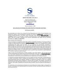 GRUPO CASA SABA, S.A.B. DE C.V. Paseo de la Reforma 215 ...