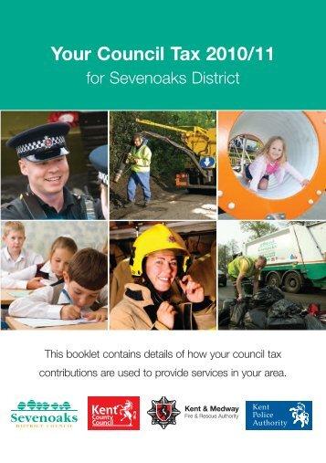 Council Tax Leaflet 2010/11 - Halstead Parish Council