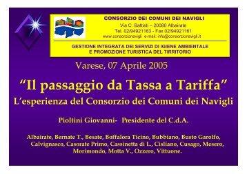 Consorzio Comuni dei Navigli - Provincia di Varese
