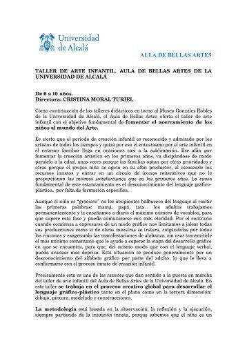 Descargar pdf - Aula de Bellas Artes