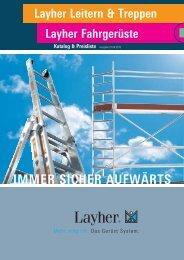 LAYHER-Katalog - Maler Weik