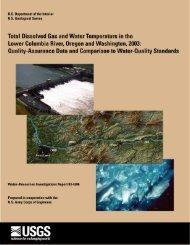 Bottom right: Salmon in the Bonneville fish ladder - USGS Oregon ...