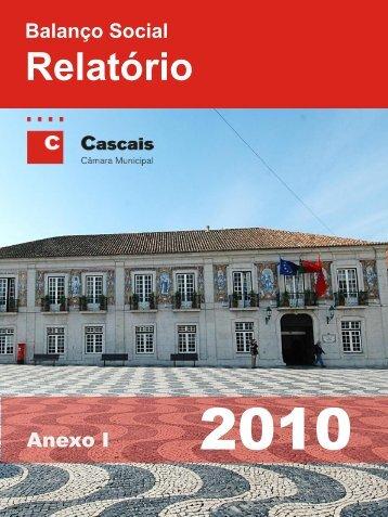 Balanço Social 2010 - Câmara Municipal de Cascais