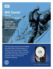 WD Caviar® Blue™ SATA/PATA Hard Drives - Product Overview