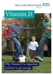 Vitamin D leaflet - West London Mental Health NHS Trust
