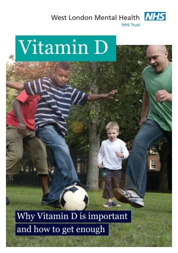 Vitamin D leaflet - West London Mental Health NHS Trust