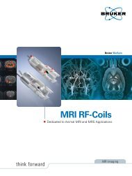 MRI RF-Coils by Applications - Bruker