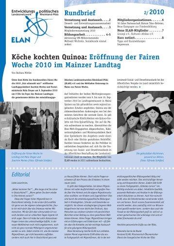 Rundbrief 02/2010 - ELAN