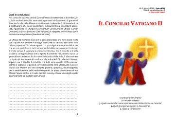 Il Concilio Vaticano II - appunti - Webdiocesi