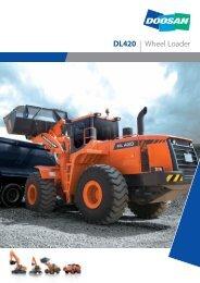 DL420 | Wheel Loader - DM-Ker Kft