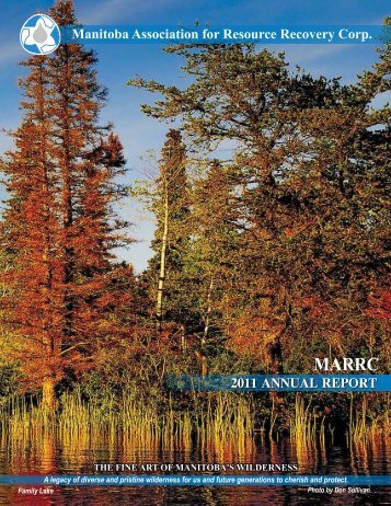 MARRC Annual Report 2011 - Alberta Used Oil Management ...