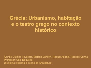 Grecia Urbanismo - Histeo.dec.ufms.br